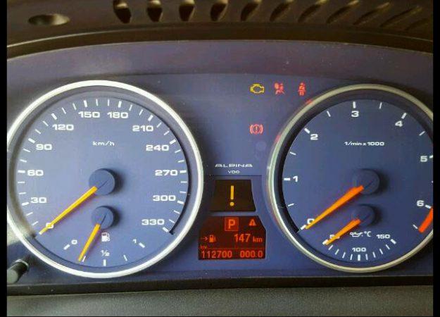 Alpina B5s E60 2008 Japan Rot 530KM 725nm !!!!