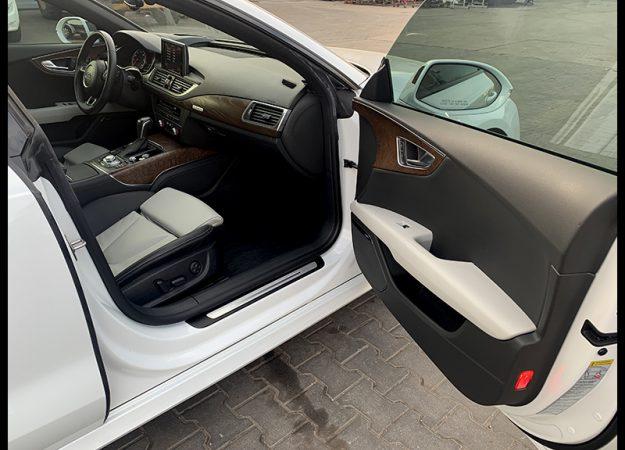 Audi A7 Audi A7 3.0 TFSI S line Matrix 21 cali kubełki Nawi dociągi headup