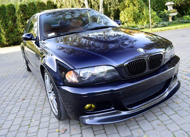 BMW E46 M3 2004 lift Carbonschwarz Piękna!