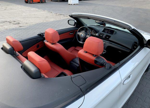 """BMW Seria 1 BMW E88 135i 2013r 306KM Cabrio Harman Kardon Nawi Xenon 18"""" full !!!"""