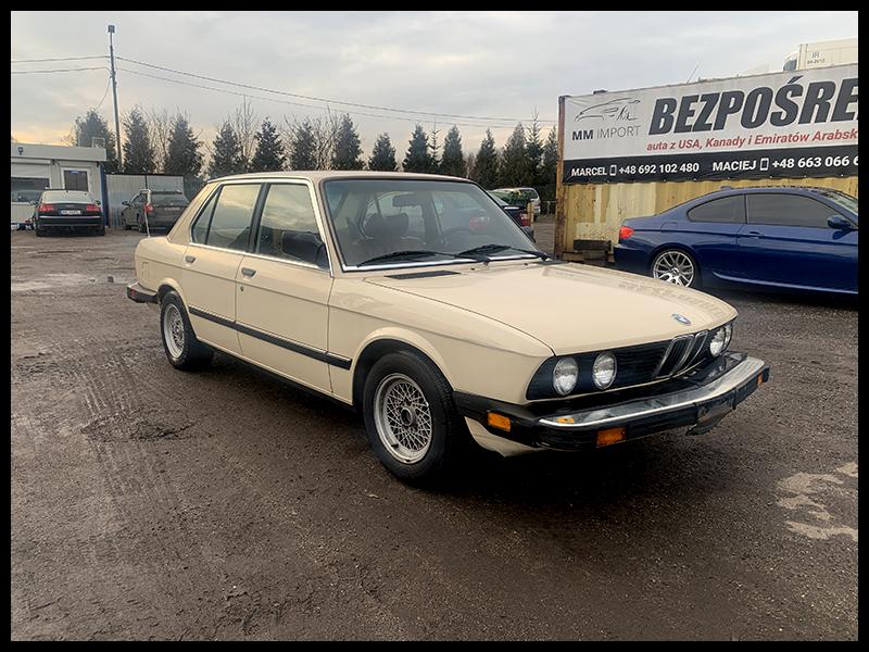 BMW Seria 5 BMW E28 528 eta USA tempomat klima automat szyber 4 szyby w prądzie