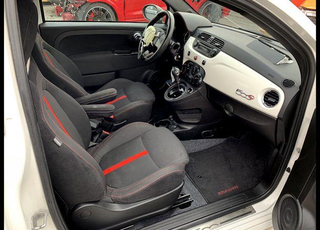 Fiat 500 Fiat 500 ABARTH CABRIO 2015r biała perła, piękny !!!