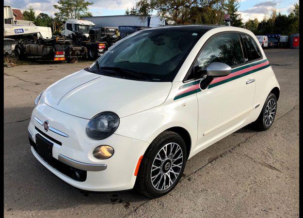 Fiat 500 GUCCI 2013 1.4 KM automat, beats, panoram
