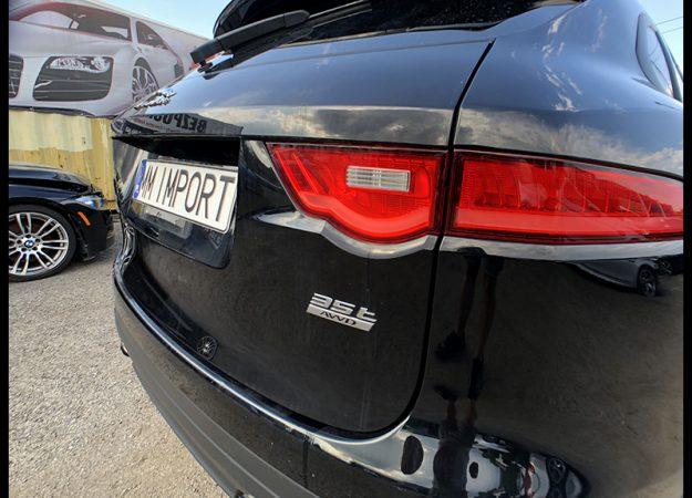 Jaguar F pace 3.0i 380KM 28 tys km meridian skóra