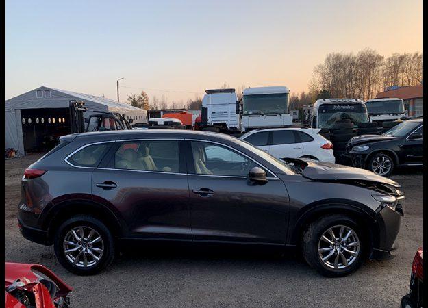 Mazda CX-9 Mazda CX9 2018r 4742km przebiegu, skóra, nawigacja, szyber EUROPA